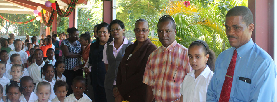 OECS Reading Champion attends reception ceremony organised by officials of the Ministry of Education and Human Resource Development.